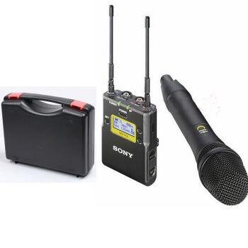 ソニーUWP-D 11 D 12無線マイクを引くと、マイクの小蜂ソニーD 12マイク収納ボックスセットがあります。