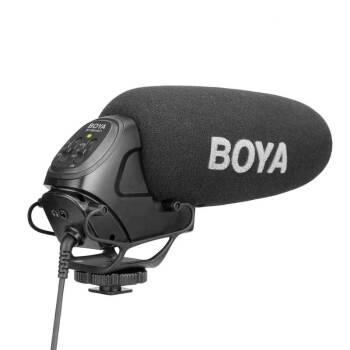 BOYAトップマイクソニーマイクロニコンキヤノンの一眼レフカメラ「マイク」の指向性録音マイク生放送取材マイク専門収音BY-BM 3031