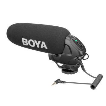 BOYAセットトップマイク、ソニーマイクロニコン、一眼レフカメラ、マイク、超ハート型録音インタビューマイク専門収音BY-BM 3030