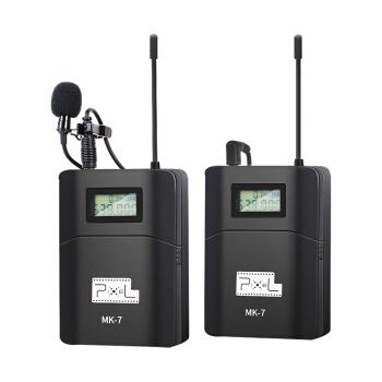 品色(PIXEL)MK 7小蜜蜂無線マイクネック専門カメラ収音マイクキヤノンニコン、ソニーの一眼レフが携帯電話の録音を取材します。